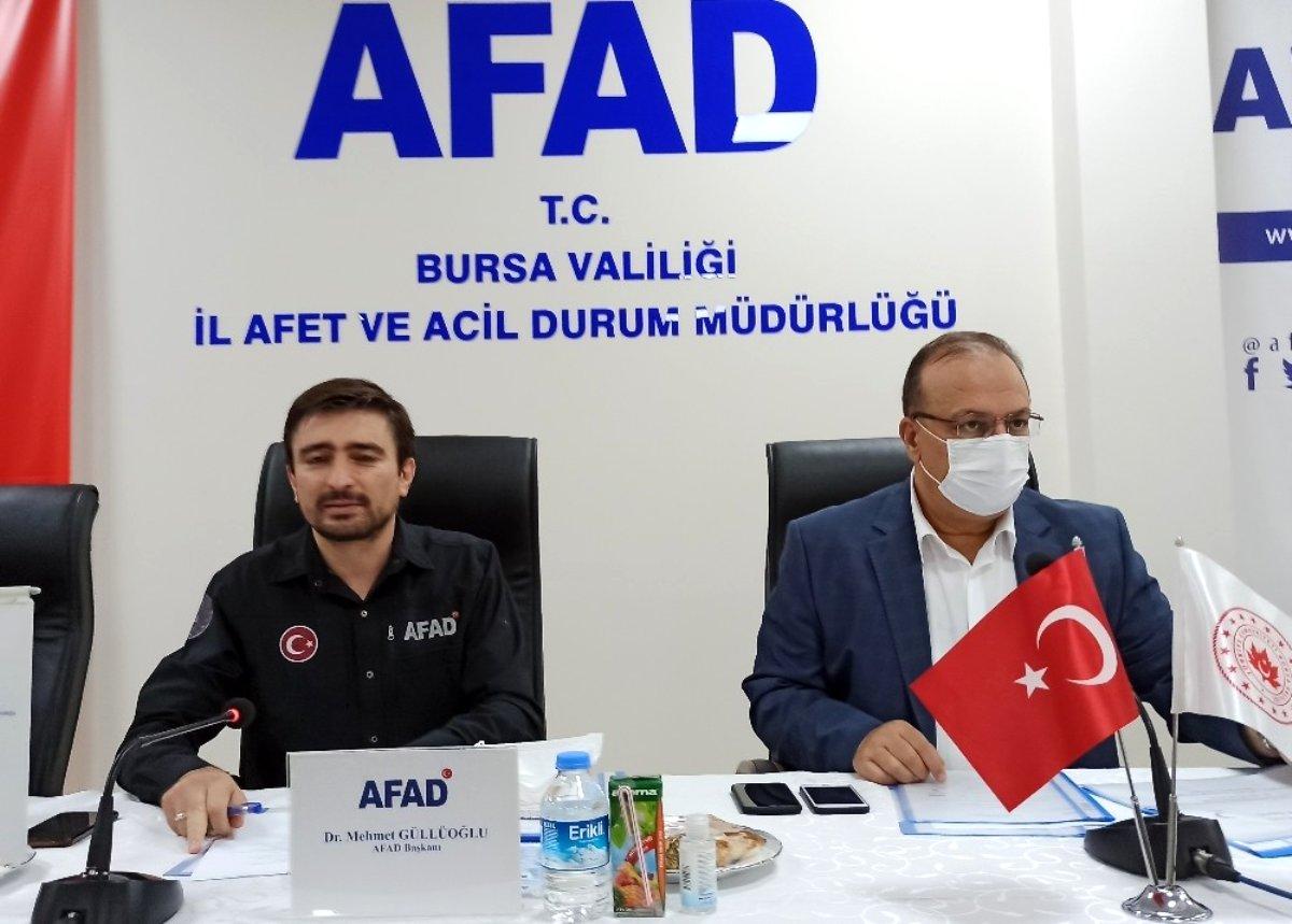 Bursa'da Kritik Toplantı!
