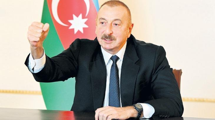 Aliyev: Karabağ'da cennet yaratacağız!
