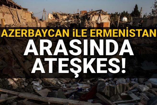 Azerbaycan ile Ermenistan arasında insani amaçlı ateşkes!
