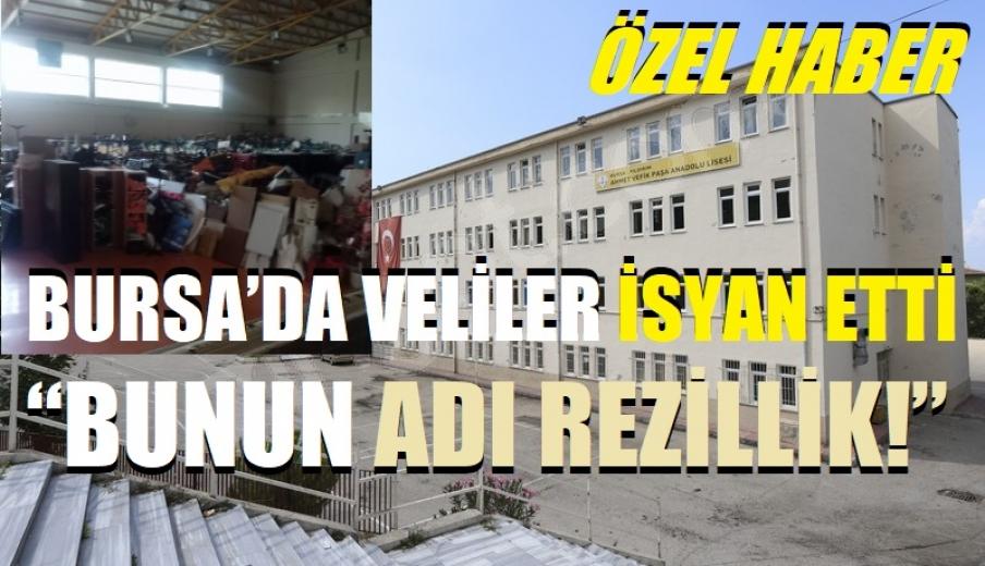 """Bursa'da Veliler İsyan etti: """"Bunun adı Rezillik!"""""""