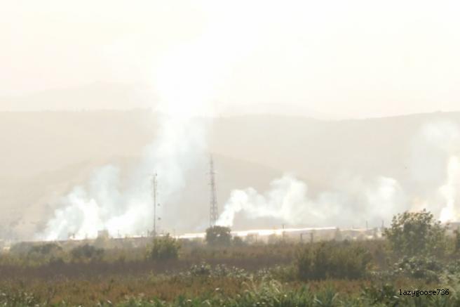Bursa Kestel'de fabrika dumanları korkutuyor!  (Özel Haber)