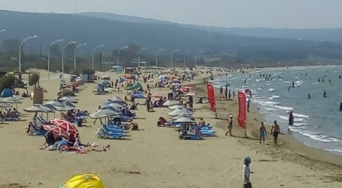 Bursa Mudanya'da denize girmek yasak