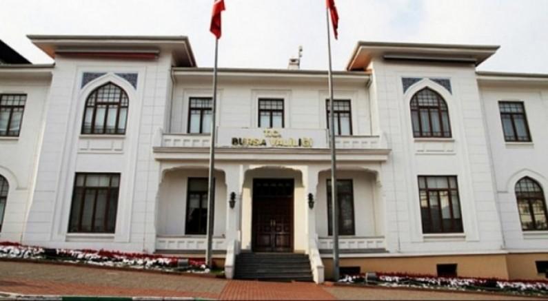 Bursa Valiliği yeni alınan kararları duyurdu