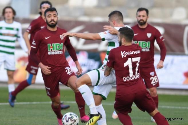 Bursaspor, Bandırma deplasmanında galip