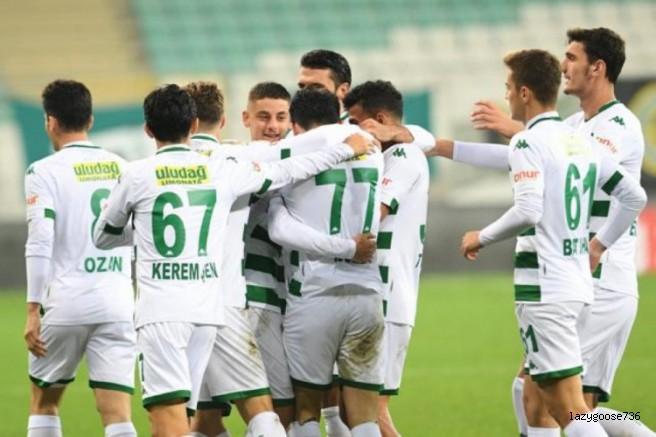 Bursaspor'da tek hedef galibiyet!