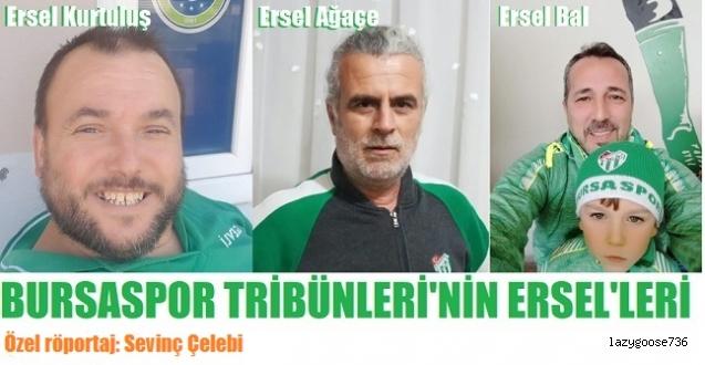 """BURSASPOR TRİBÜNLERİNİN ERSEL'LER'İ: """"Artık kimse Bursaspor'un yanında değil!"""""""