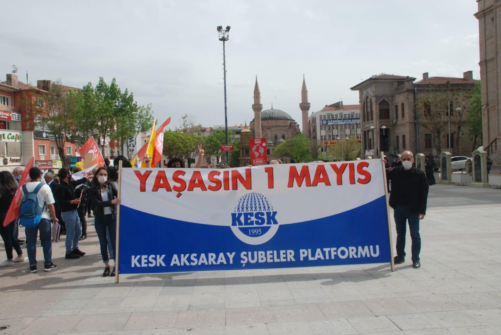 CHP ve KESK 1 Mayıs'ı kutladı