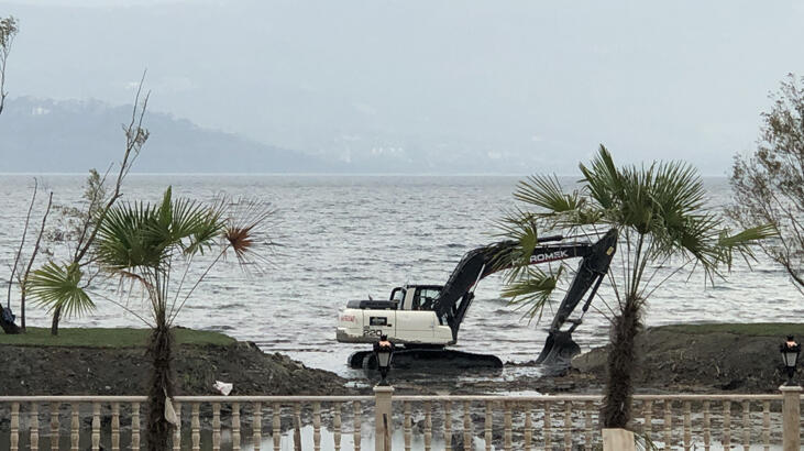 CİMER'e şikayet yağdı! Sapanca Gölü'nü talan ettiler