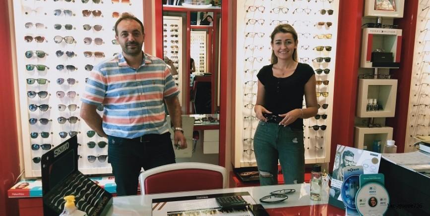 Güneş gözlüğü Cadde Optik'ten alınır! (Özel Röportaj)