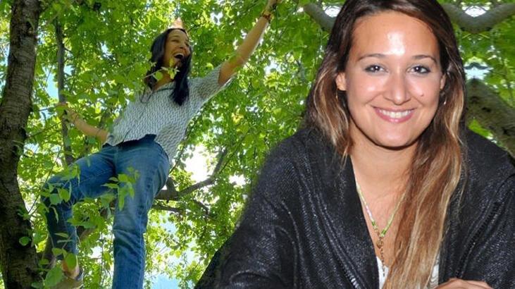 Gupse Özay: Ağaç gördüm mü tırmanırım