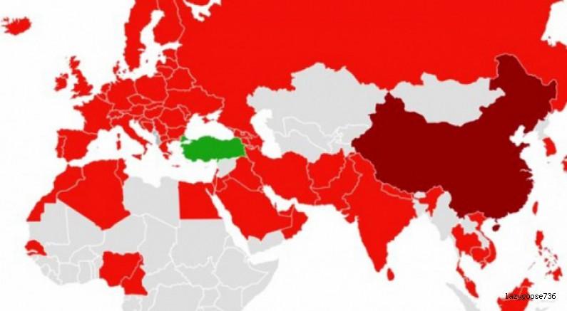Koronavirüs haritasında büyük mucize! İşte Türkiye'nin sırrı!