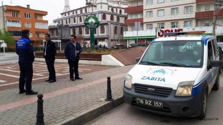 Osmangazi'de zabıta ekiplerinden 'yaşlı' denetimi