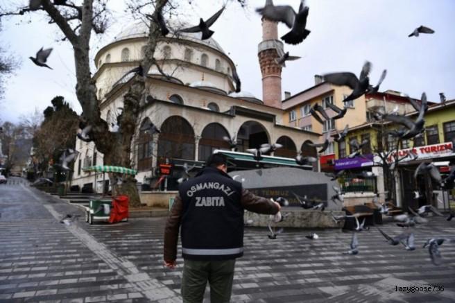Osmangazi Sokakları Sessizliğe Büründü