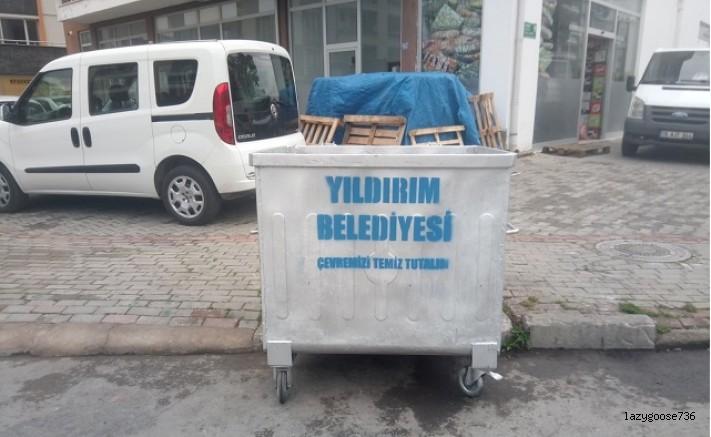 YILDIRIM BELEDİYESİ'NDEN CEVAP VAR!